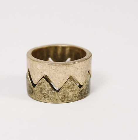 Jewelry >> Nested Crowns Rings >> http://candystorecollective.com/collections/rings/products/nested-crown-rings