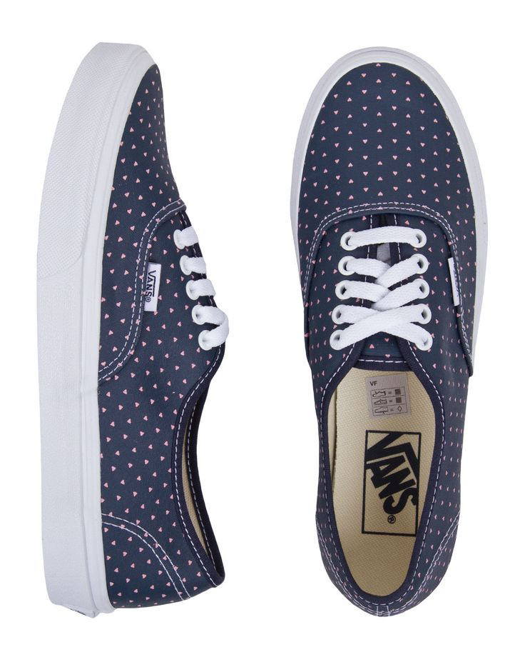 Vans Authentic Slim Micro Hearts Shoes