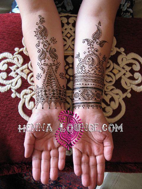 Moroccan designs by Henna Lounge, via Flickr.