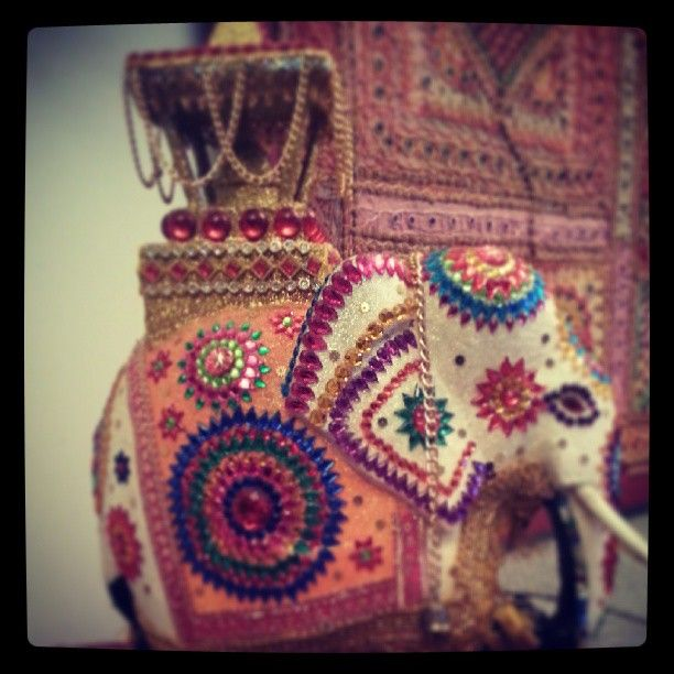 Jewelled elephant