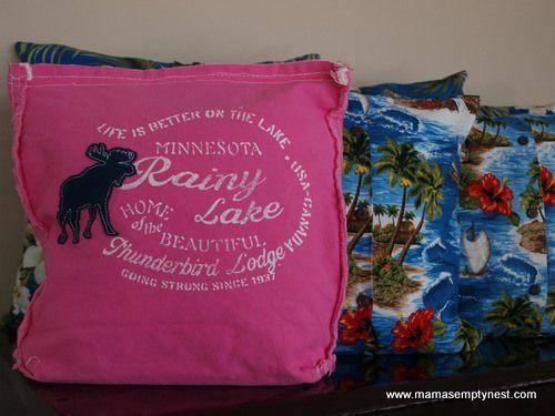 DIY \u2013 Shirt Pillows & 768 best DIY Pillow \u0026 Pillowcases images on Pinterest | Sewing ... pillowsntoast.com