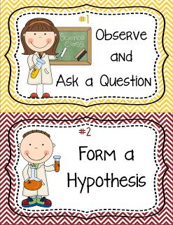 Mrs. Gilchrist's Class: The Scientific Method - Printable Posters and Activities :) Get a copy for free!