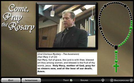Pray the Rosary Online Worldwide http://www.comepraytherosary.org/