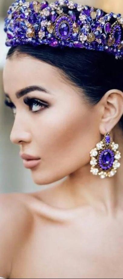 Rosamaria GFrangini ... Modern Jewellery  Amethyst Tiara. Billionaires Members Only.