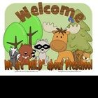 """We are """"WILD"""" about Preschool! Use a cute woodland animal theme to welcome your future students to the new school year. Here is a collection of nin..."""