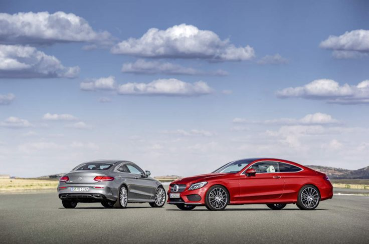 Germany: 2016 Mercedes C-Class Coupe now available to order