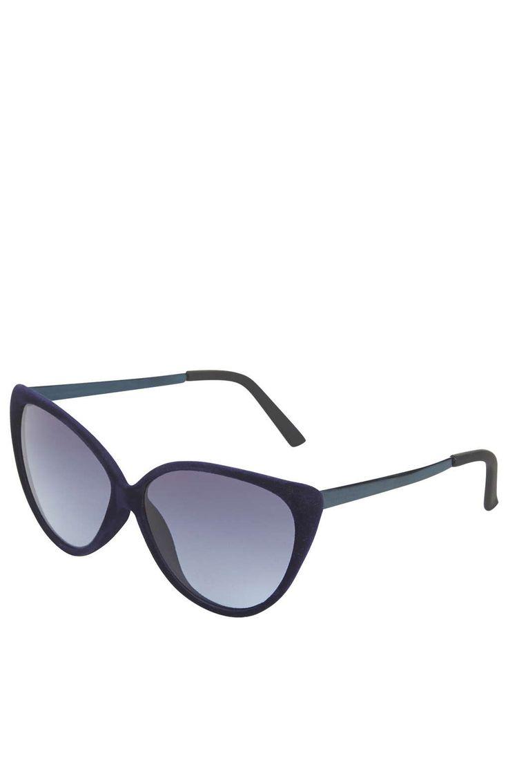 Photo 1 of Velvet Cateye Sunglasses