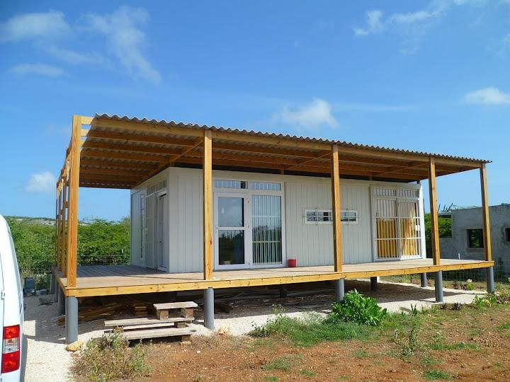 shipping container barn building | Small Shipping Container Buildings