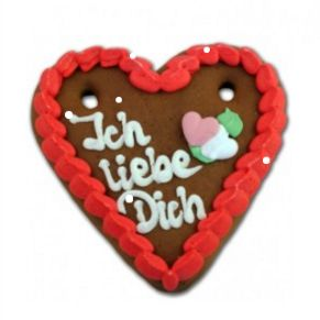 Surprise your special someone with a personal gift from Germany: a customisable gingerbread heart. You choose the text yourself!