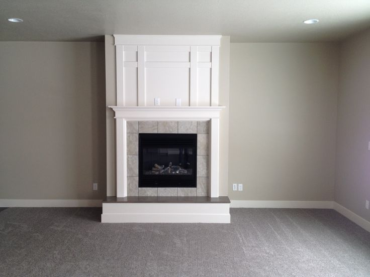 Rocky Mountain - Paint Grade with Raised Hearth and Trim ...