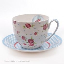 """""""Rosalie""""  cup and saucer"""