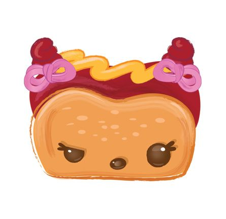 Haley Hot Dog Num Noms