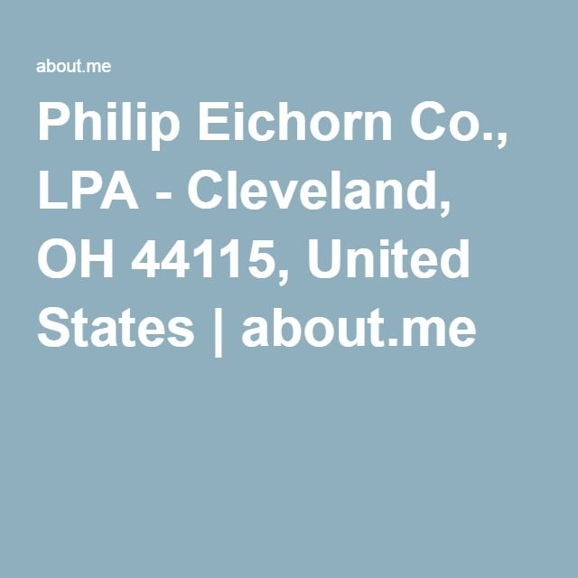Philip Eichorn Co., LPA - Cleveland, OH 44115, United States | about.me