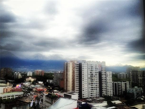Santiago, parcial variando a nublado, dicen