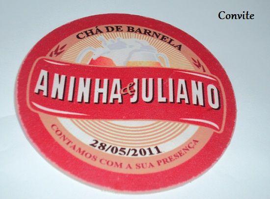 Chá bar: Ana Carolina e Juliano - Assessoria Dia do Casamento