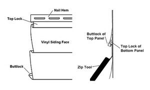 How to Use a Zip Tool to Remove Vinyl Siding: Using the Vinyl Siding Removal Zip Tool
