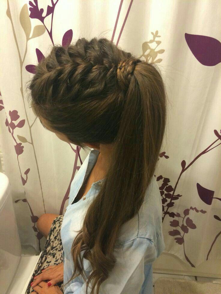 Las 25 mejores ideas sobre peinados casuales en pinterest - Ideas para peinados faciles ...