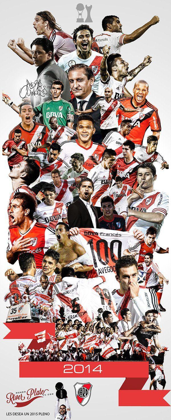 River Plate 2014, Que año por favor!! sin duda nos merecíamos esto los verdaderos hinchas de River que estuvimos en las malas..