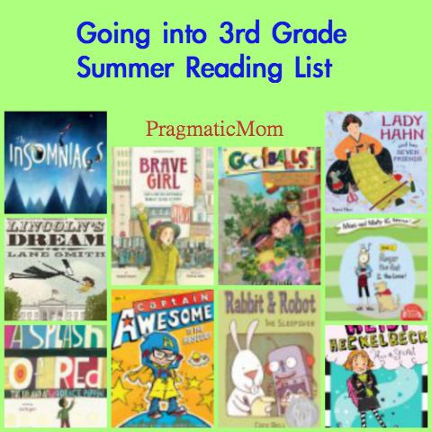 Picture books and chapter books for rising 3rd grade summer reading :: PragmaticMom