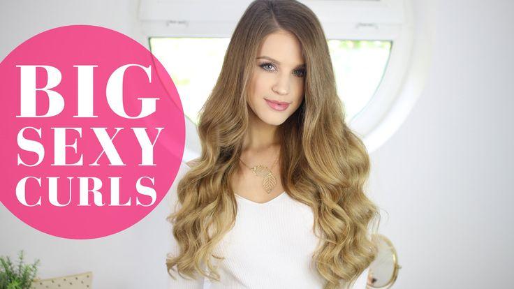 3 Easy Ways to Get BIG SEXY CURLS | Luxy Hair