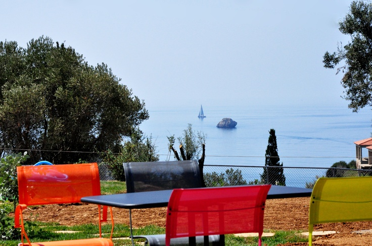 Breakfast Garden with Sea View