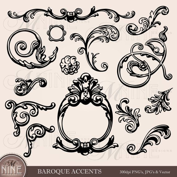 104 Best Images About Scrolls, Filigree And Other Designs