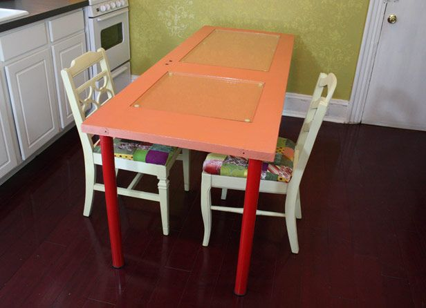 139 best images about upcycled projects on pinterest for How to turn an old door into a table
