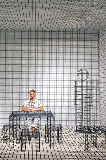 Grid interior trend + design: focus on grid pattern trend for 2016 interiors and design on ITALIANBARK - interior design blog