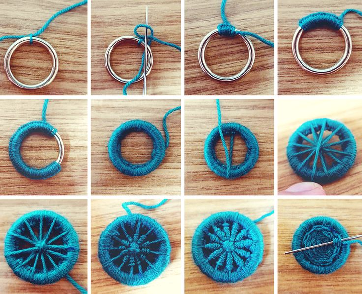 how to make handmade buttons step by step (8)