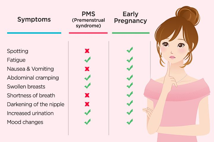 PMS Symptoms Vs  Pregnancy Symptoms: How Are They Different