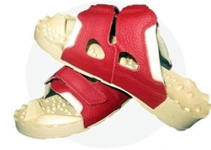 Hallux Orthopedic Acupressure Slimming Massage Shoes Slippers Calcaneal Spur