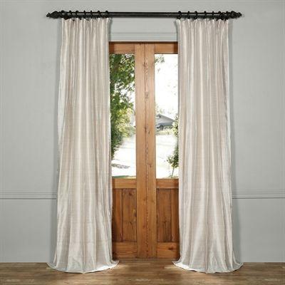 Exclusive Fabrics & Furnishing Curtains & Drape DIS-ID16Exclusive Fabrics & Furnishing Textured Dupioni Silk Curtain