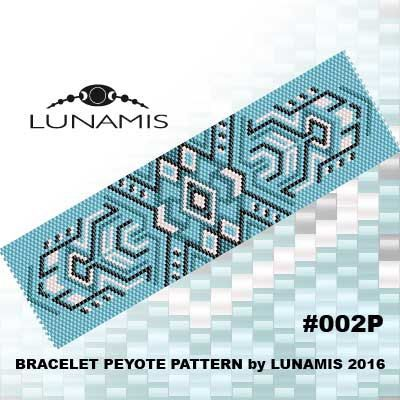 PATTERN ONLY. Create this beautiful peyote cuff bracelet. Miyuki Delica Beads size 11/0 Odd count with 4 bead colors. 31 bead columns by 93
