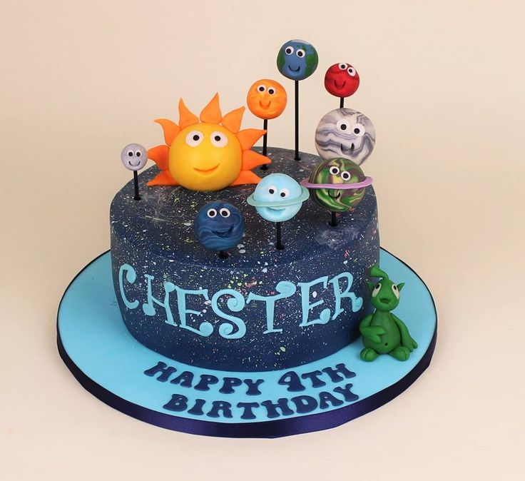 Planet cake of the solar system                                                                                                                                                                                 More