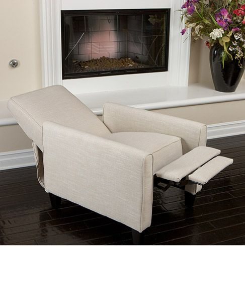Christopher Knight Home Darvis Light Beige Fabric Recliner Club Chair    Overstock™ Shopping   Big Discounts On Christopher Knight Home Recliners