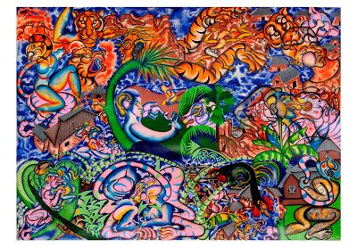 ARTIST ANIRBAN MITRA: OLD PAINTINGS PART 1 2004 - 2005
