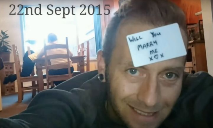 Man Hides Marriage Proposal in 148 Images He Takes of Girlfriend Over 5 Months