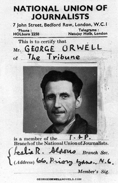 a comprehensive life history and works of george orwell →home table of content united architects  table of content all sites → download: → george orwell - fifty essays inside the whale (1940) george orwell.