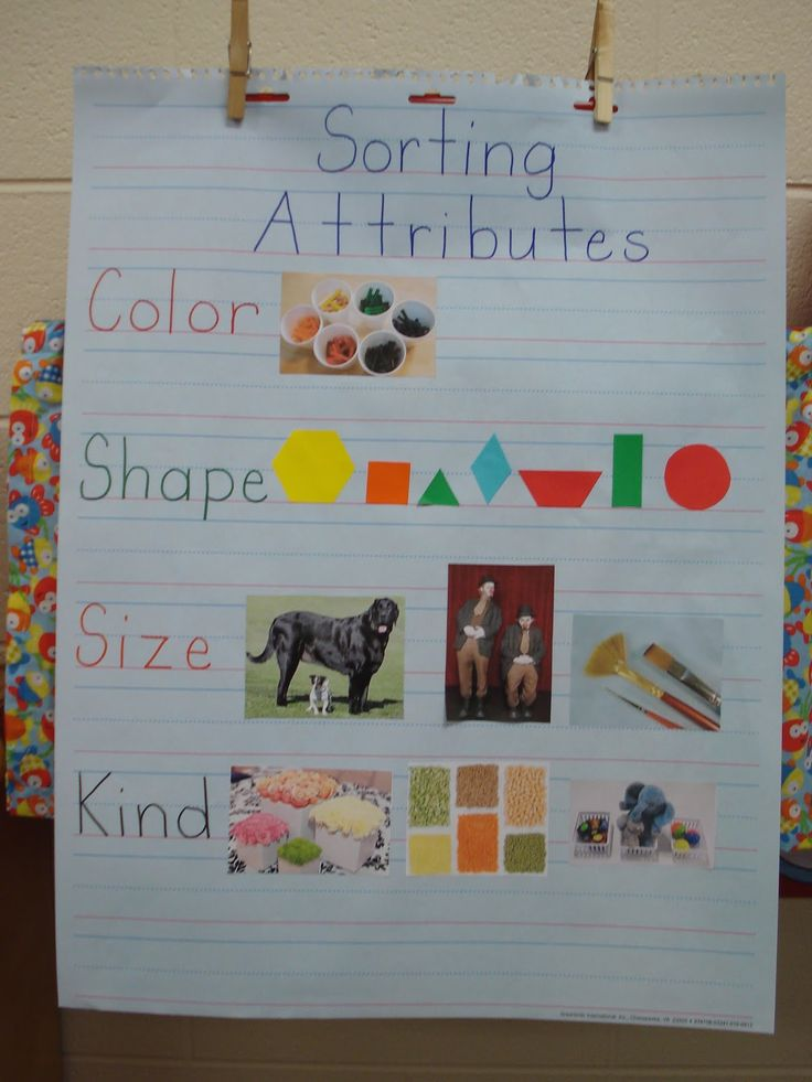 Sorting by attributes