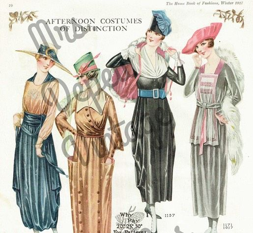 90 best e books for historical fashion sewing research images on home book of fashions winter 1917 1918 ladies home journal quarterly wwi time capsule fandeluxe Choice Image