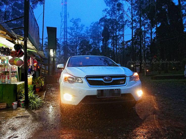 Subaru XV at dusk