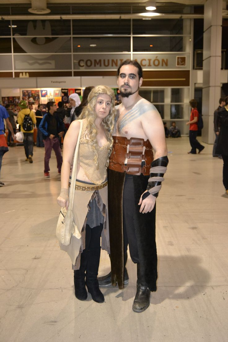 Khal Drogo + Khaleesi Daenerys Targaryen
