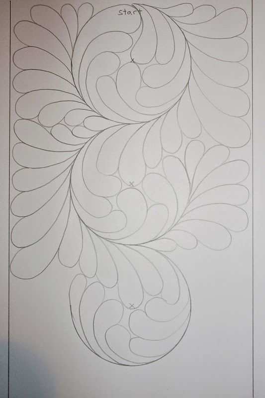 Plate feathers tutorial - Sampaguita Quilts