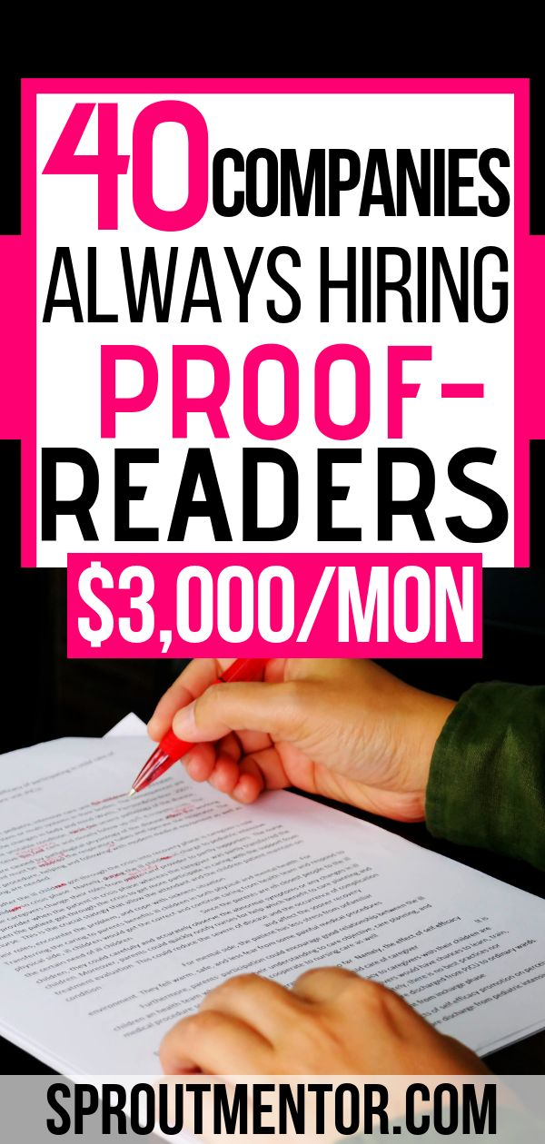 45 Entry Level Online Proofreading Jobs From Home – Leah A