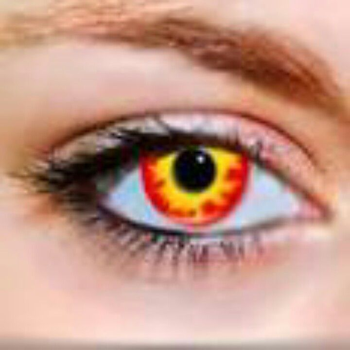yellow eyes contacts - photo #5