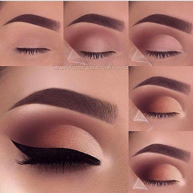 "(@thefemininity) on Instagram: ""#smokeyeyes #smokeyeyesmakeup #smokeyeyestutorial #eyestutorial #makeuptutorial #makeup…"""