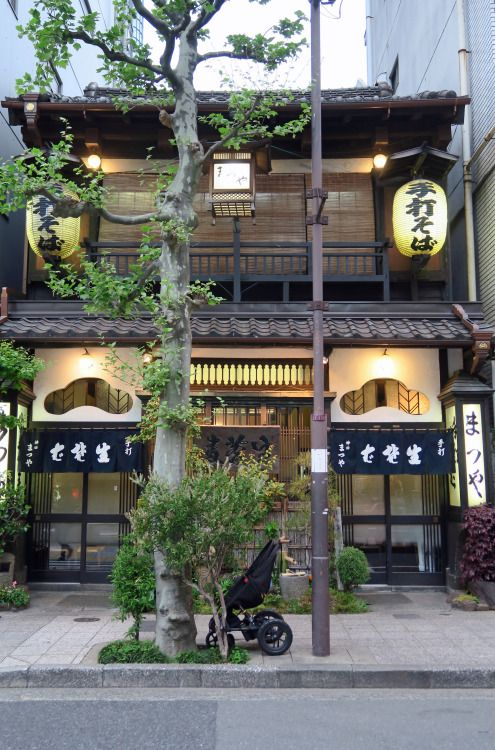 "ninetail-fox: "" a soba (buckwheat) restaurant ,Sudacho """