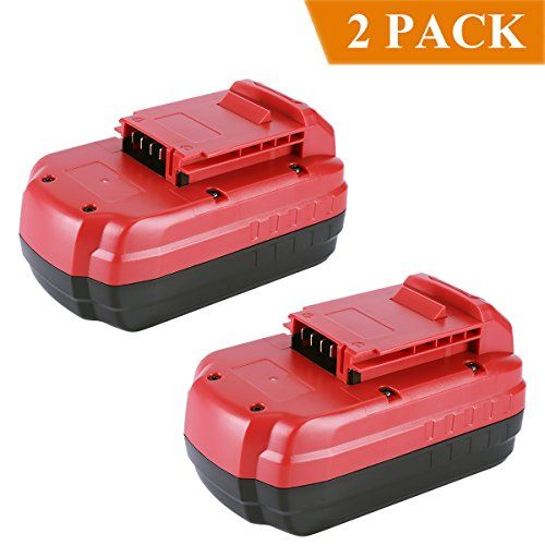 Biswaye 2 Pack PC18B Replacement Battery 18V 3.0Ah for Porter Cable 18-Volt NiCd Cordless Power Tools Battery PCC489N PCMVC PCXMVC #Biswaye #Pack #Replacement #Battery #Porter #Cable #Volt #NiCd #Cordless #Power #Tools #PCCN #PCMVC #PCXMVC