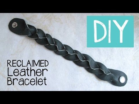 DIY Magic Mystery Braid Leather Bracelet Tutorial - YouTube