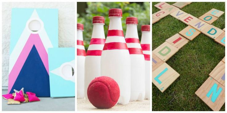 Make your next backyard bash a hit with these DIY lawn games.